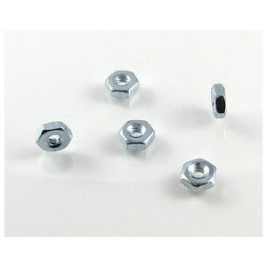 TRB RC 4-40 Hex Nut 1/4 Hex (5) - trb-rc-bearings