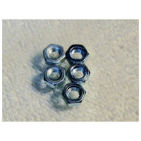 TRB RC 4mm Hex Nut 7mm Hex (5) - trb-rc-bearings