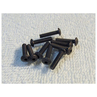 TRB RC 4-40 x 1/2 Button Head Socket Screw Hard Alloy Steel (10) - TRB RC®