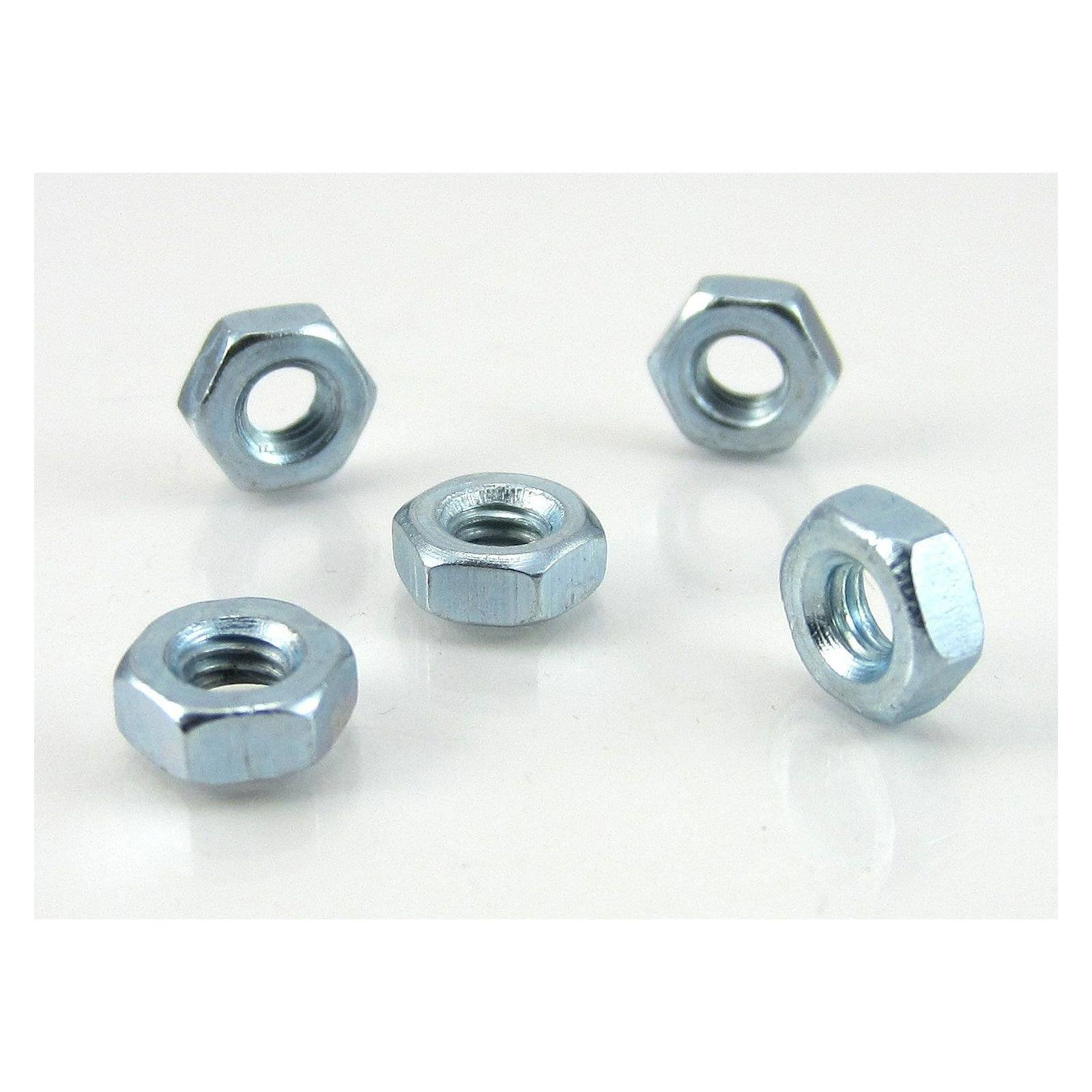 TRB RC 3mm Hex Nut 5.5mm Hex (5) - trb-rc-bearings