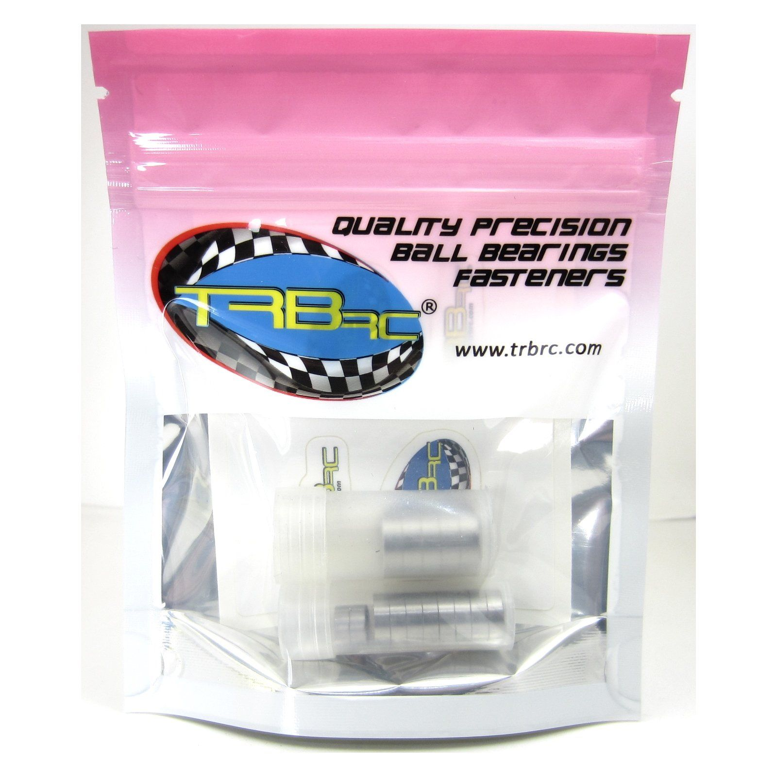 TRB RC Precision Ball Bearing Kit (15) Rubber Sealed Latrax 1/18 4WD Rally Teton - trb-rc-bearings