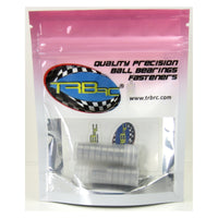 TRB RC Precision Ball Bearing Kit (19) Rubber Sealed YEL Traxxas Slash Stampede 2WD - trb-rc-bearings