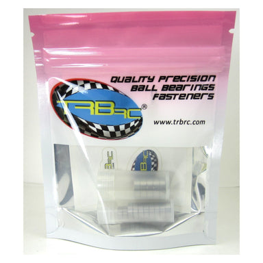 TRB RC Precision Ball Bearing Kit (15) Blue Rubber Sealed Latrax 1/18 4WD Rally Teton - trb-rc-bearings