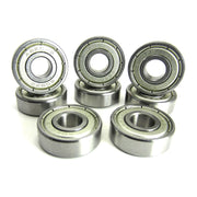TRB RC 8x22x7mm ABEC 3 Precision Skate Ball Bearings Metal Shields - trb-rc-bearings