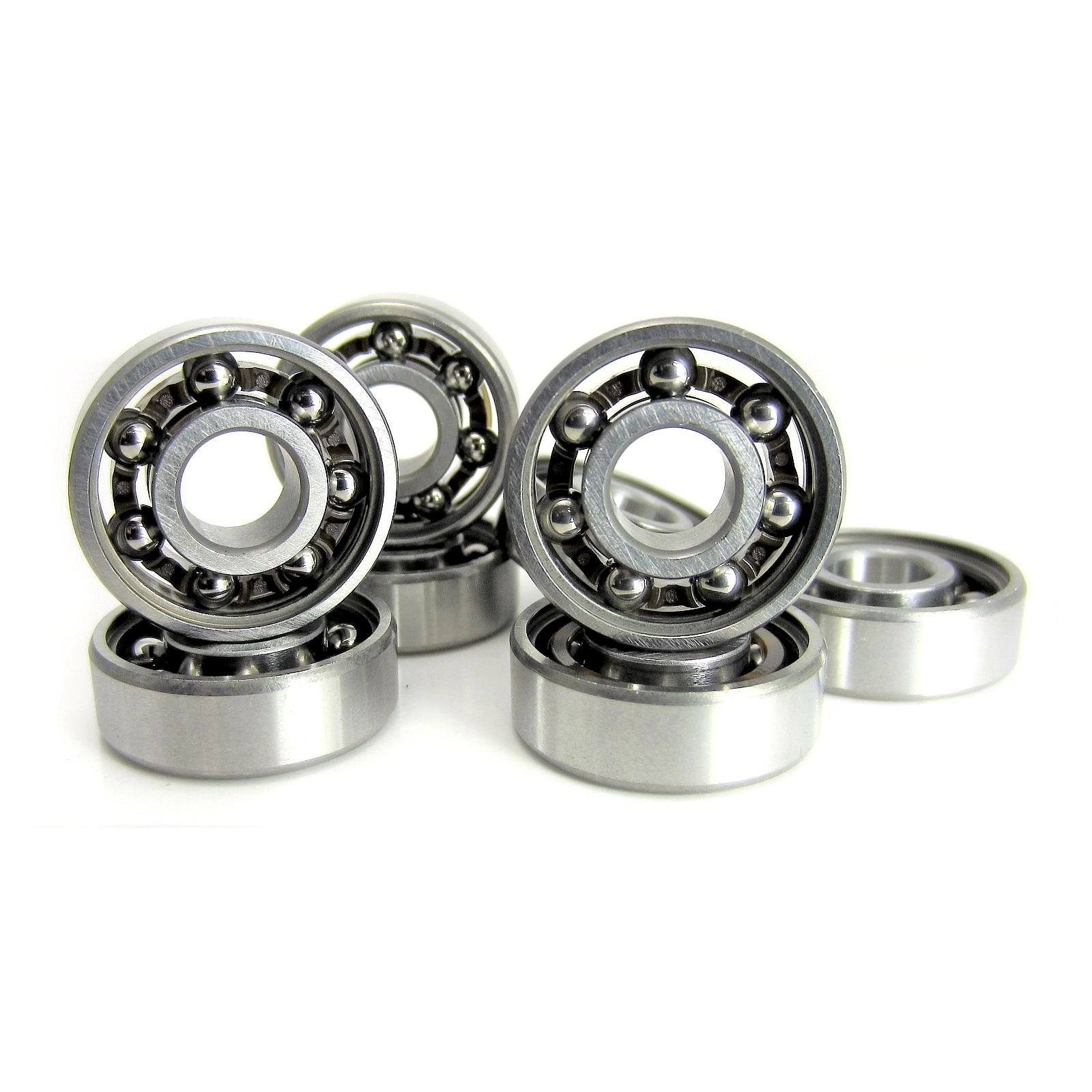 8x22x7mm 608 Open A9 Precision Ball Bearings (8) by TRB RC - trb-rc-bearings