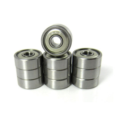 TRB RC 4x13x5mm Precision Ceramic Ball Bearings Metal Shields (10) - trb-rc-bearings