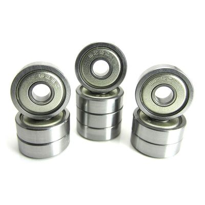 TRB RC 5x16x5mm Precision Ball Bearings ABEC 3 Metal Shields (10) - trb-rc-bearings