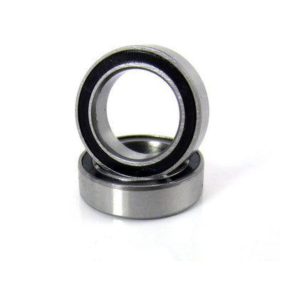 TRB RC 10x15x4mm Precision Ball Bearings ABEC 3 Rubber Sealed (2) - trb-rc-bearings