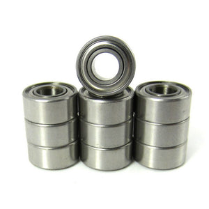 TRB RC 5x11x5mm Precision Ceramic Ball Bearings Metal Shields (10) - trb-rc-bearings