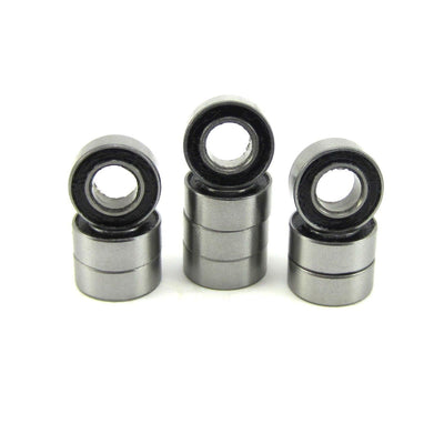 TRB RC 5x10x4mm Precision Ball Bearings ABEC 1 Rubber Sealed (10) - TRB RC®