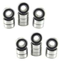 TRB RC 5x11x4mm Precision Ball Bearings ABEC 1 Rubber Sealed (20) - TRB RC®