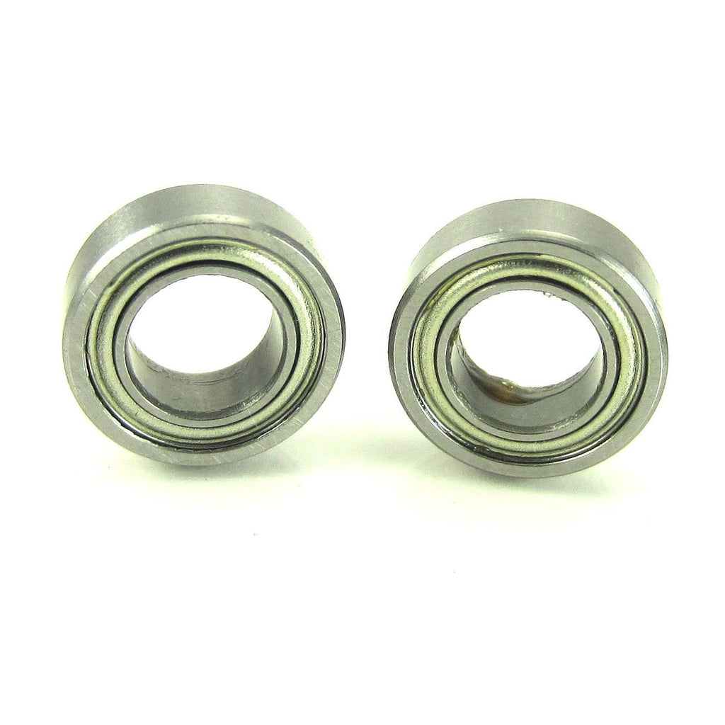 TRB RC 6x11x4mm Precision Ball Bearings ABEC 1 Metal Shields (2) - trb-rc-bearings