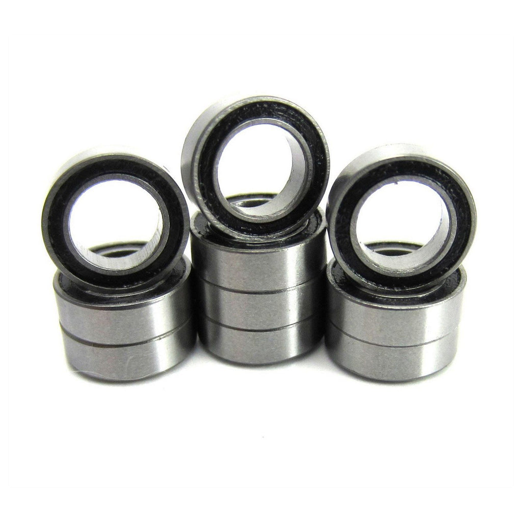 TRB RC 5x8x2.5mm Precision Bearings ABEC 1 Rubber Sealed (10) - TRB RC®