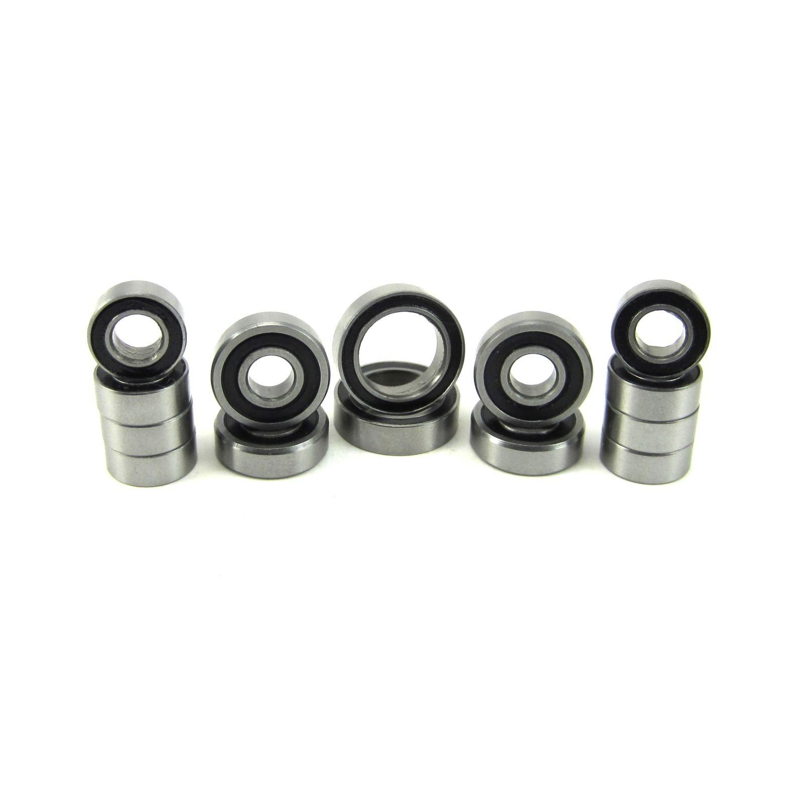 TRB RC Precision Ball Bearing Kit (14) Rubber Sealed ARRMA Vorteks - trb-rc-bearings