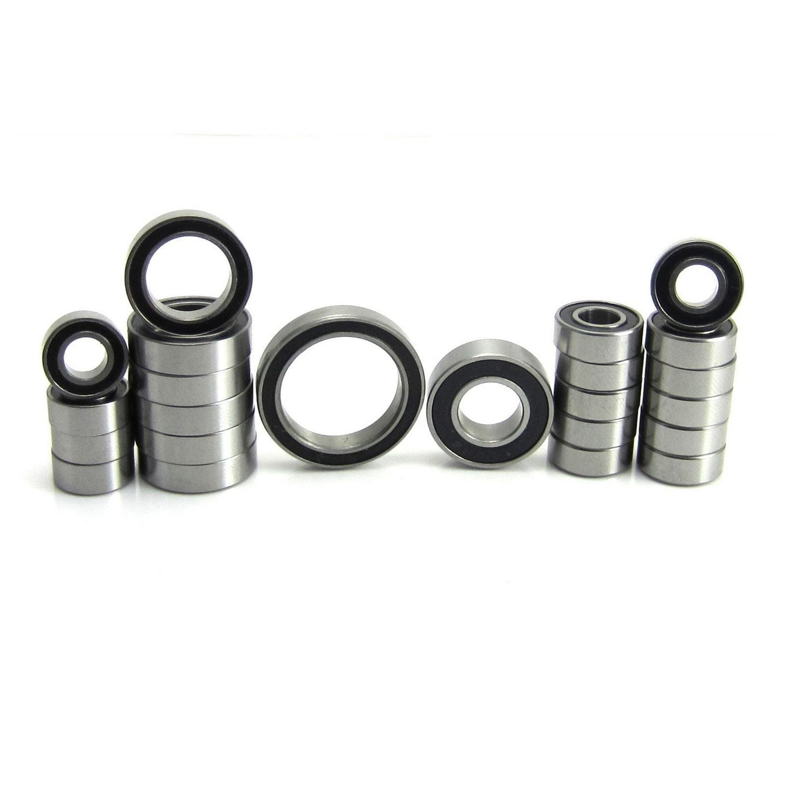 TRB RC Precision Bearing Kit (23) Rubber Sealed Axial Wraith - trb-rc-bearings