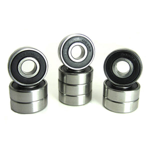 TRB RC 8x22x7mm ABEC 5 Precision Ball Bearings Rubber Seals (10) - TRB RC®