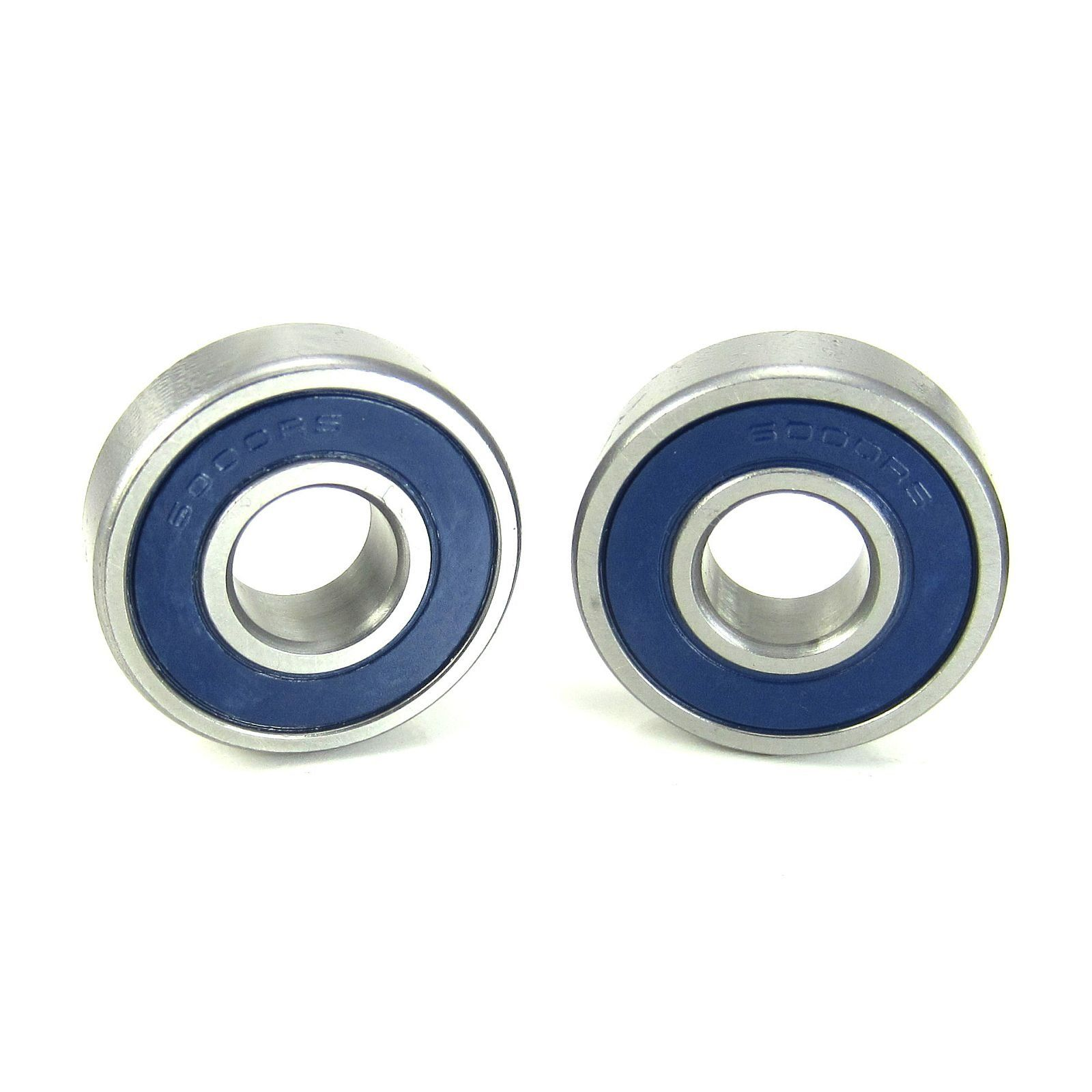 TRB RC 10x26x8mm Precision Ball Bearings ABEC 3 BLU Rubber Seals (2) - trb-rc-bearings