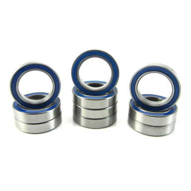 TRB RC 12x18x4mm Precision Ball Bearings ABEC 3 Rubber Sealed BLU (10) - trb-rc-bearings