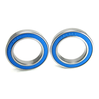 TRB RC 17x26x5mm Precision Ball Bearings ABEC 3 Blue Rubber Seals (2) - TRB RC®