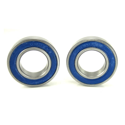 TRB RC 15x28x7mm Precision Ball Bearings ABEC 3 BLU Rubber Seals (2) - TRB RC®