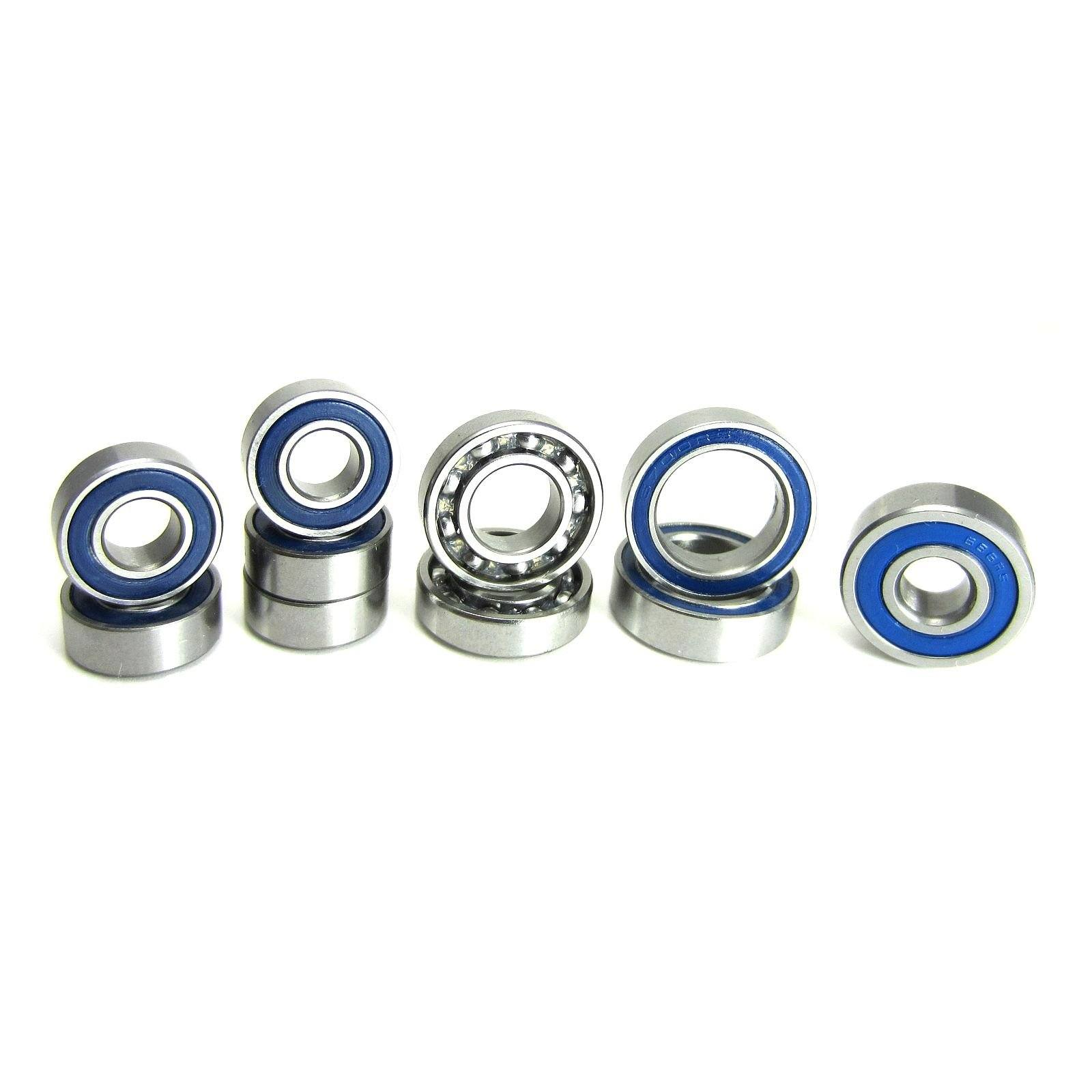 TRB RC AR44 Complete Axle Ball Bearing Set Axial SCX10 II - trb-rc-bearings