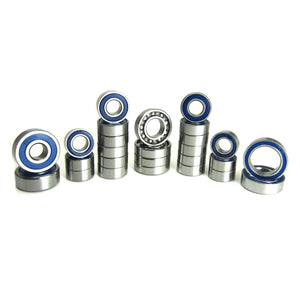 TRB RC Precision Bearing Kit (26) Blue Rubber Sealed Axial SCX10 II - TRB RC®
