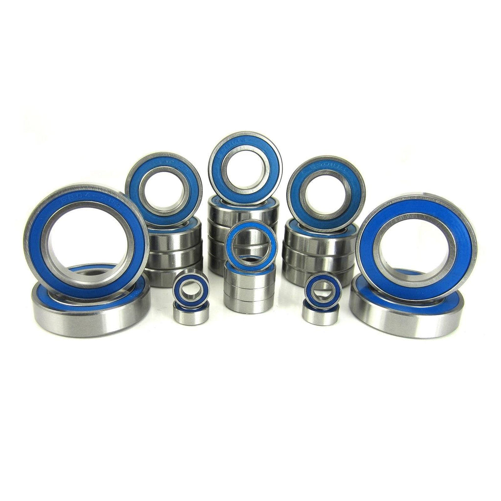 TRB RC Precision Ball Bearing Kit (25) Rubber Sealed HPI Baja 5B-5T - trb-rc-bearings