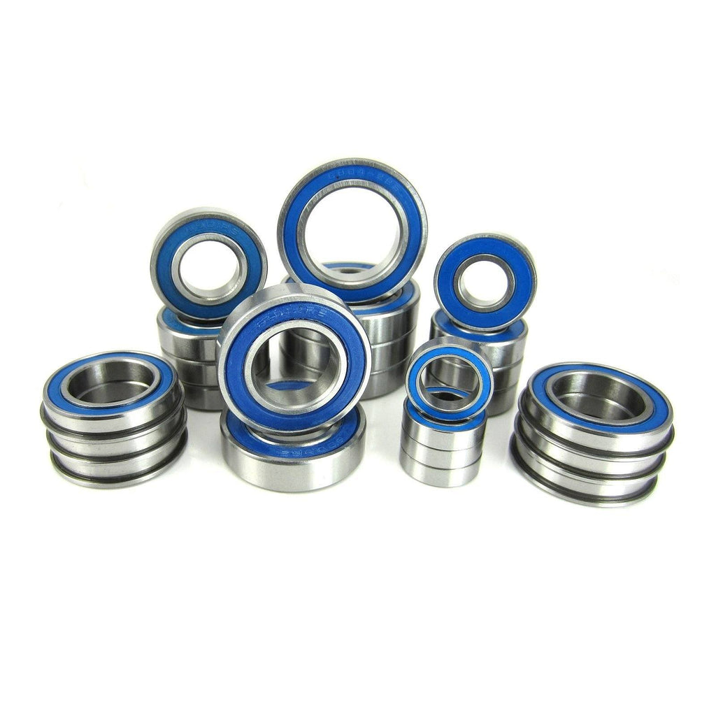 TRB RC Precision Ball Bearing Kit (24) Rubber Sealed Losi 5IVE-T 5T - trb-rc-bearings