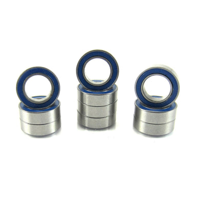 TRB RC 6x10x3mm Precision Ball Bearings ABEC 3 Rubber Sealed BLU (10) - trb-rc-bearings