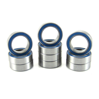 TRB RC 8x12x3.5mm Precision Ball Bearings ABEC 3 BLU Rubber Sealed (10) - trb-rc-bearings