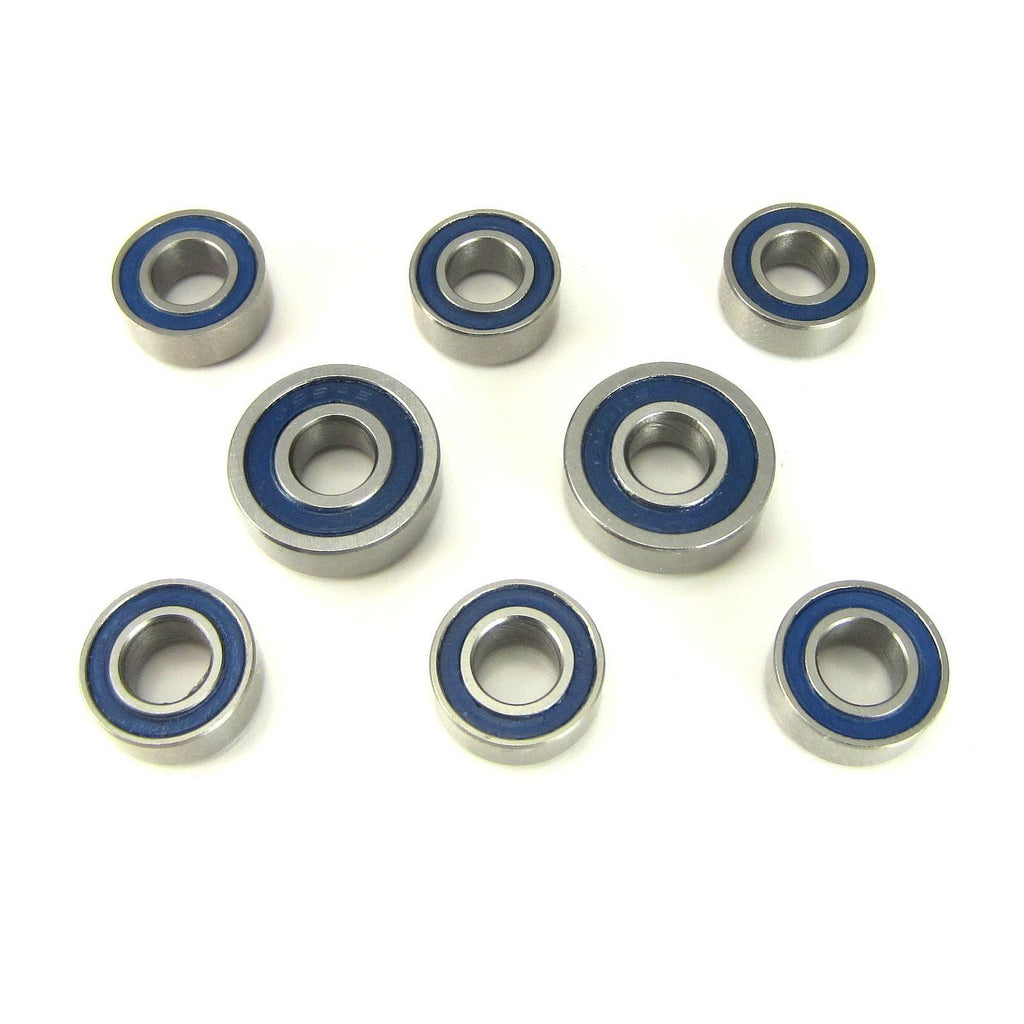 TRB RC Hub Carrier Bearings 5x10x4mm - 5x13x4mm BLU, Losi 22 B, T, SCT - TRB RC®