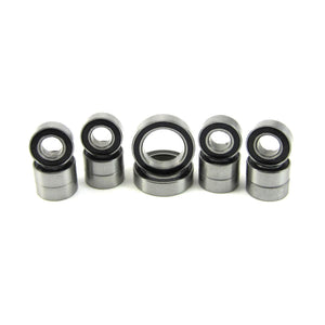 TRB RC Precision Ball Bearing Kit (14) Rubber Sealed HPI E-Firestorm 10T Flux - trb-rc-bearings