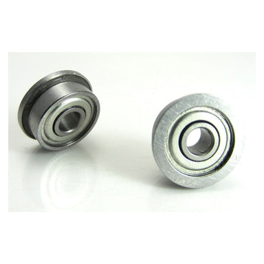 "TRB RC 1/8x3/8x5/32"" Flanged Precision Brushless Motor Ball Bearings (2) Chrome Steel - trb-rc-bearings"