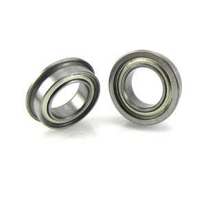 TRB RC 6x10x3mm Flanged Precision Ball Bearings ABEC 3 Metal Shields (2) - TRB RC®