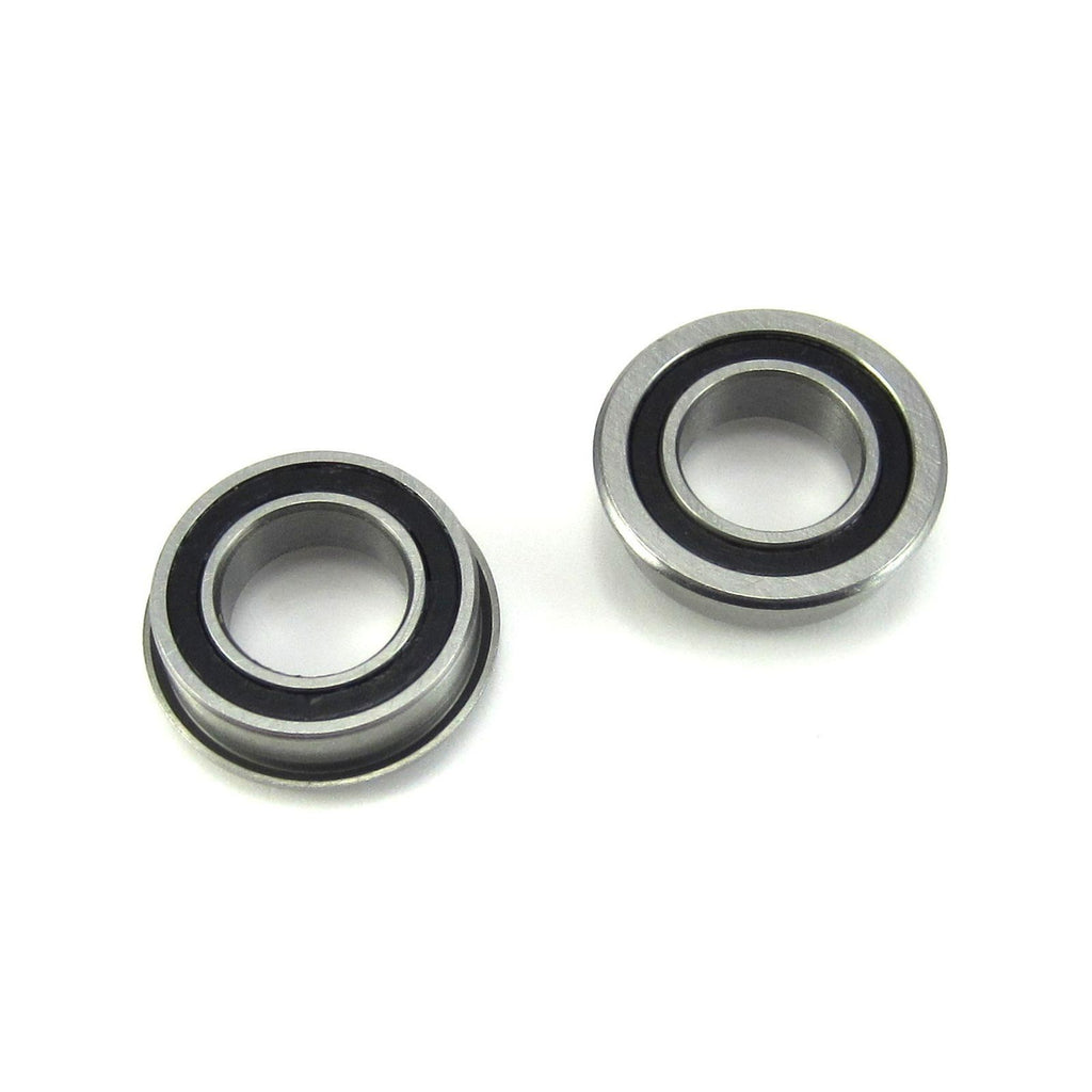 TRB RC 8x14x4mm Flanged Precision Ball Bearings Rubber Sealed (2) - TRB RC®