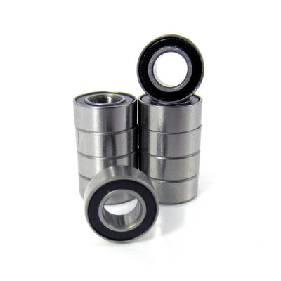 TRB RC 5x10x4mm Precision Ball Bearings ABEC 3 Rubber Sealed (10) - TRB RC®