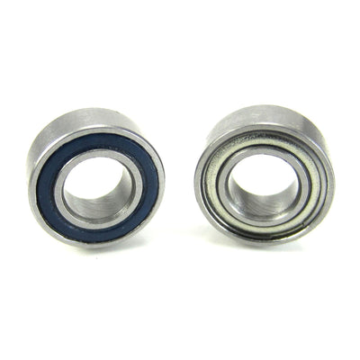 TRB RC 5x10x4mm Precision Ball Bearings ABEC 5 Hybrid Seals Blue (2) - TRB RC®