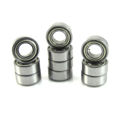 TRB RC 5x10x4mm Precision Ball Bearings ABEC 3 Metal Shields (10) - TRB RC®
