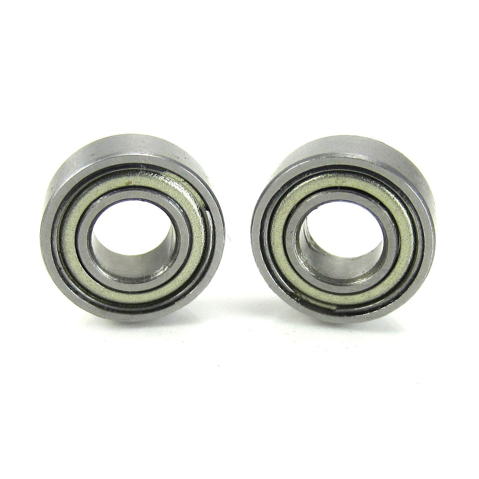TRB RC 5x11x4mm Precision Clutch Ball Bearings Metal Shields (2) - trb-rc-bearings
