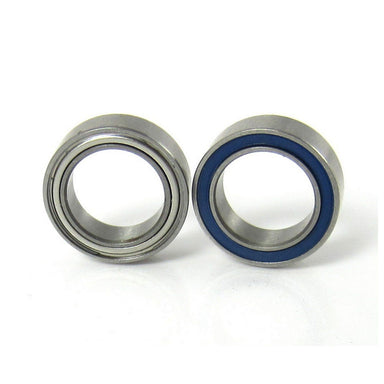TRB RC 8x12x3.5mm Precision Ball Bearings ABEC 5 Hybrid Seals (2) - trb-rc-bearings