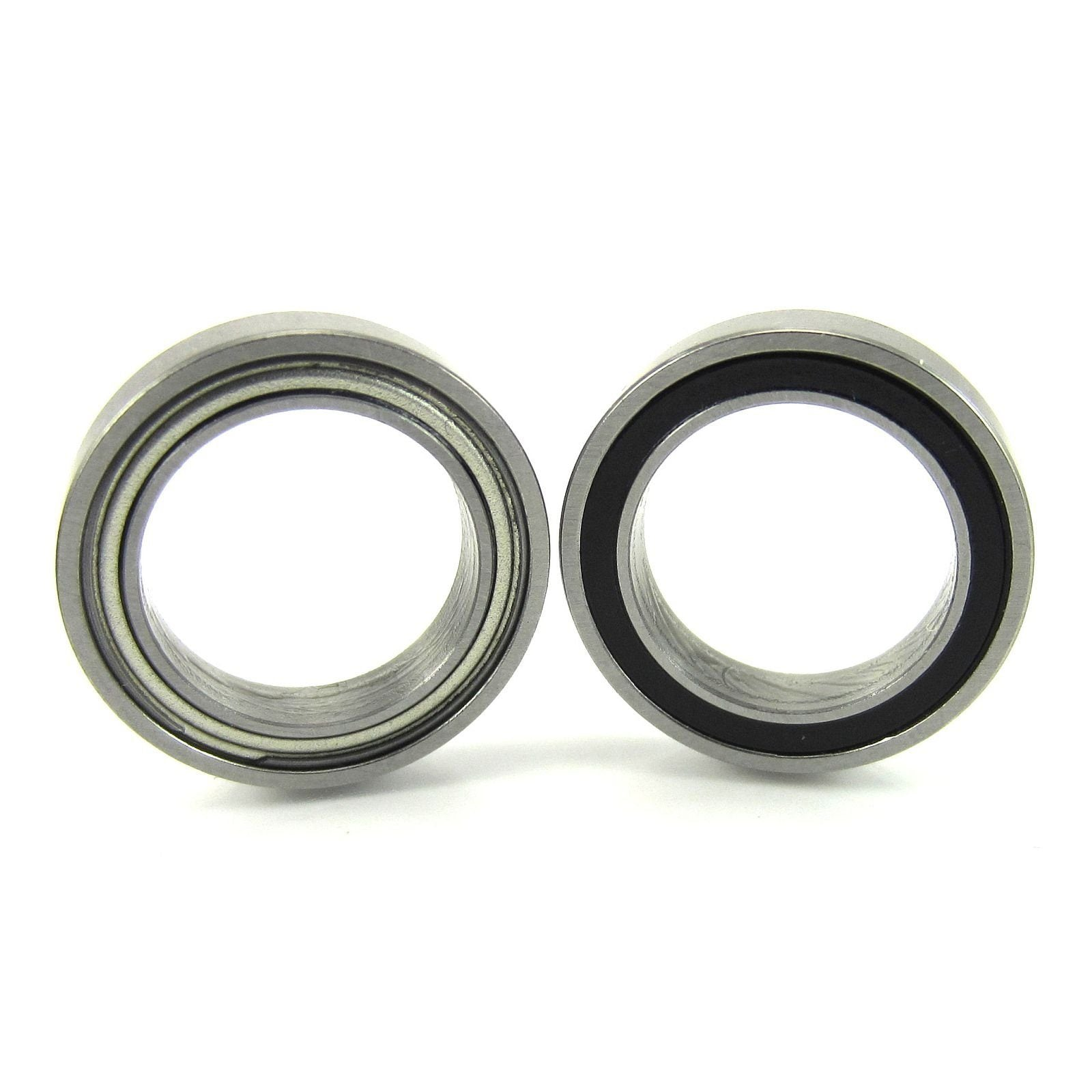 TRB RC 13x19x4mm Precision Ceramic Ball Bearings Hybrid Seals (2) - trb-rc-bearings