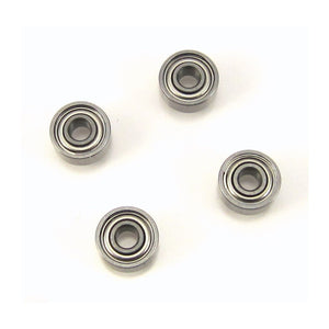TRB RC 2x5x2.5mm MR52-ZZ Precision Ball Bearings Metal Shields (4) - trb-rc-bearings