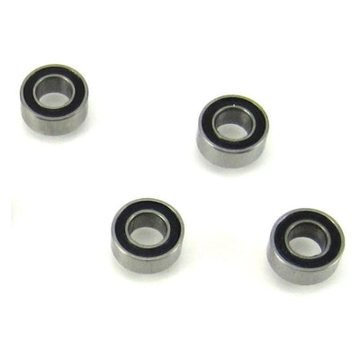 TRB RC 3x6x2.5mm MR63-2RS Precision Ball Bearings Rubber Sealed (4) - TRB RC®