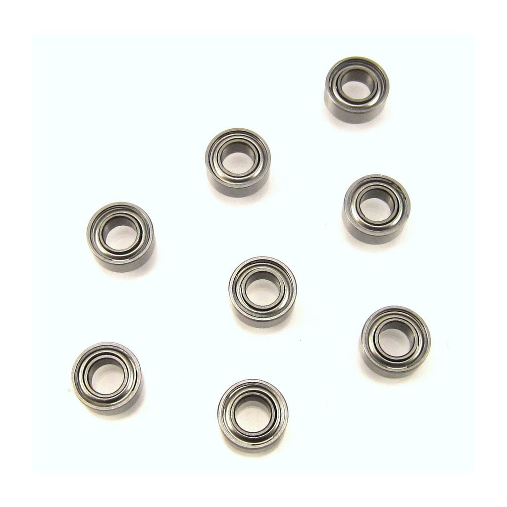 TRB RC 3x6x2.5mm MR63-ZZ/C Precision Ceramic Ball Bearings Metal Shields (8) - TRB RC®