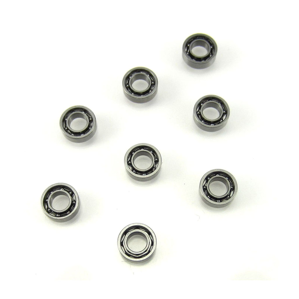 TRB RC 3x6x2mm MR63 Open Precision Ball Bearings (8) - trb-rc-bearings