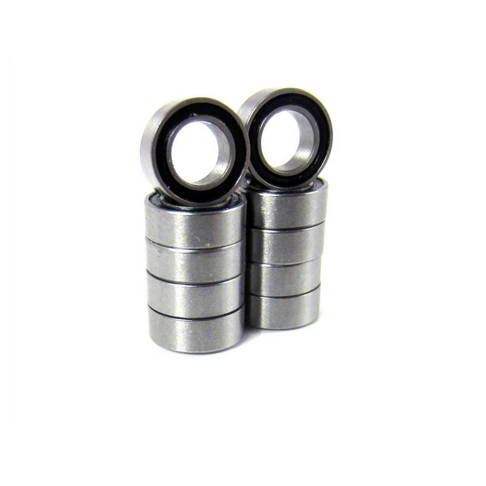 TRB RC 4x7x2.5mm Precision Ball Bearings ABEC 3 Rubber Sealed (10) - trb-rc-bearings