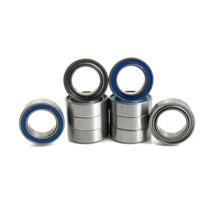 TRB RC 5x8x2.5mm Precision Ball Bearings ABEC 5 Hybrid Seals Blue (10) - TRB RC®