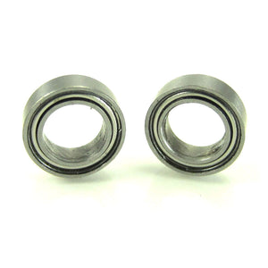 TRB RC 5x8x2.5mm Precision Ball Bearings ABEC 3 Metal Shields (2) - trb-rc-bearings
