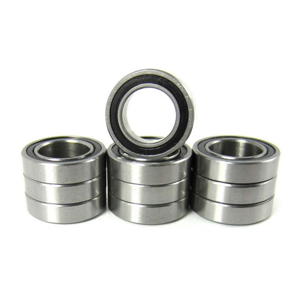 TRB RC 3/8x5/8x5/32 Precision Ball Bearings ABEC 3 Rubber Sealed (10) - trb-rc-bearings