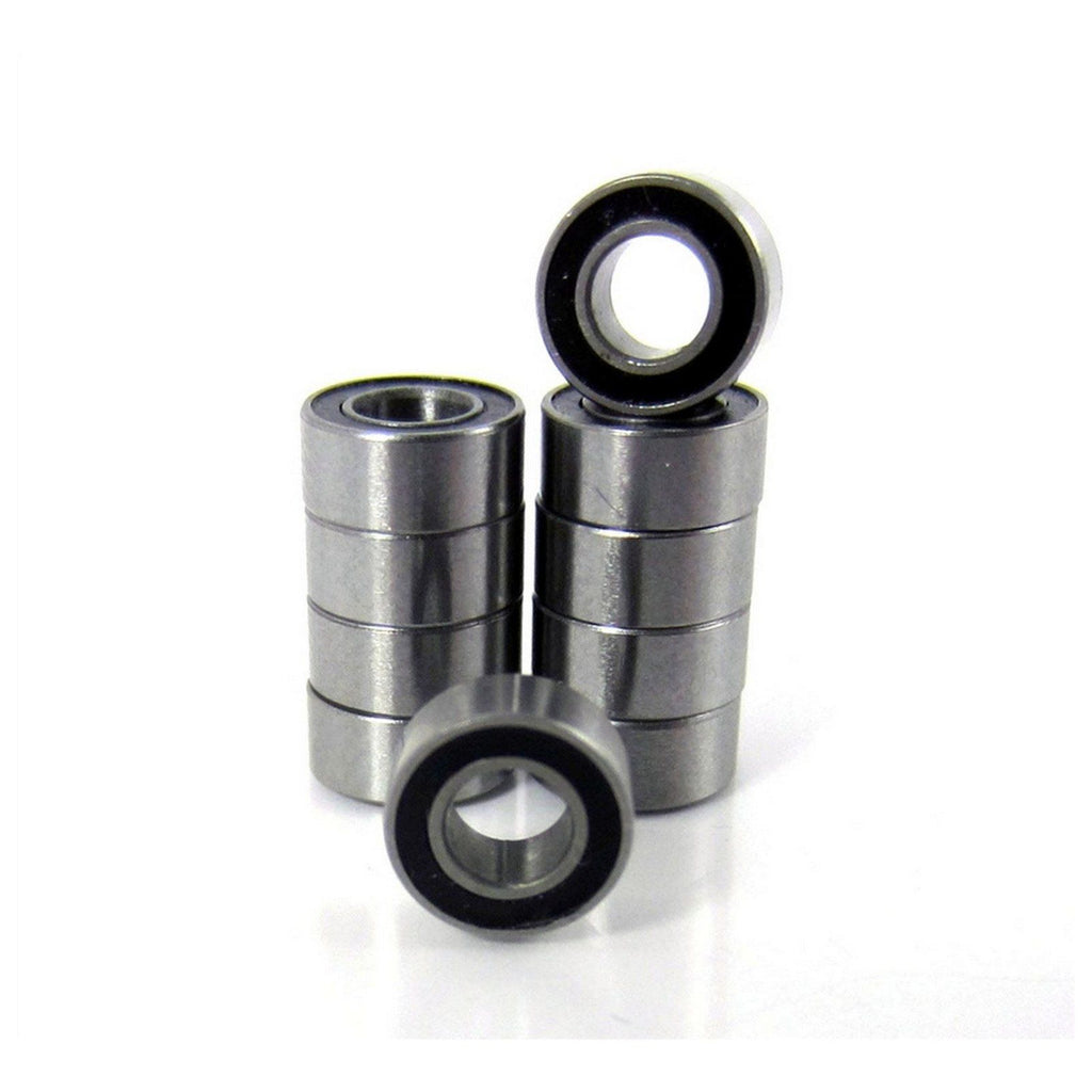 TRB RC .125x.250x.109 Precision Ball Bearings ABEC 3 Rubber Sealed (10) - trb-rc-bearings